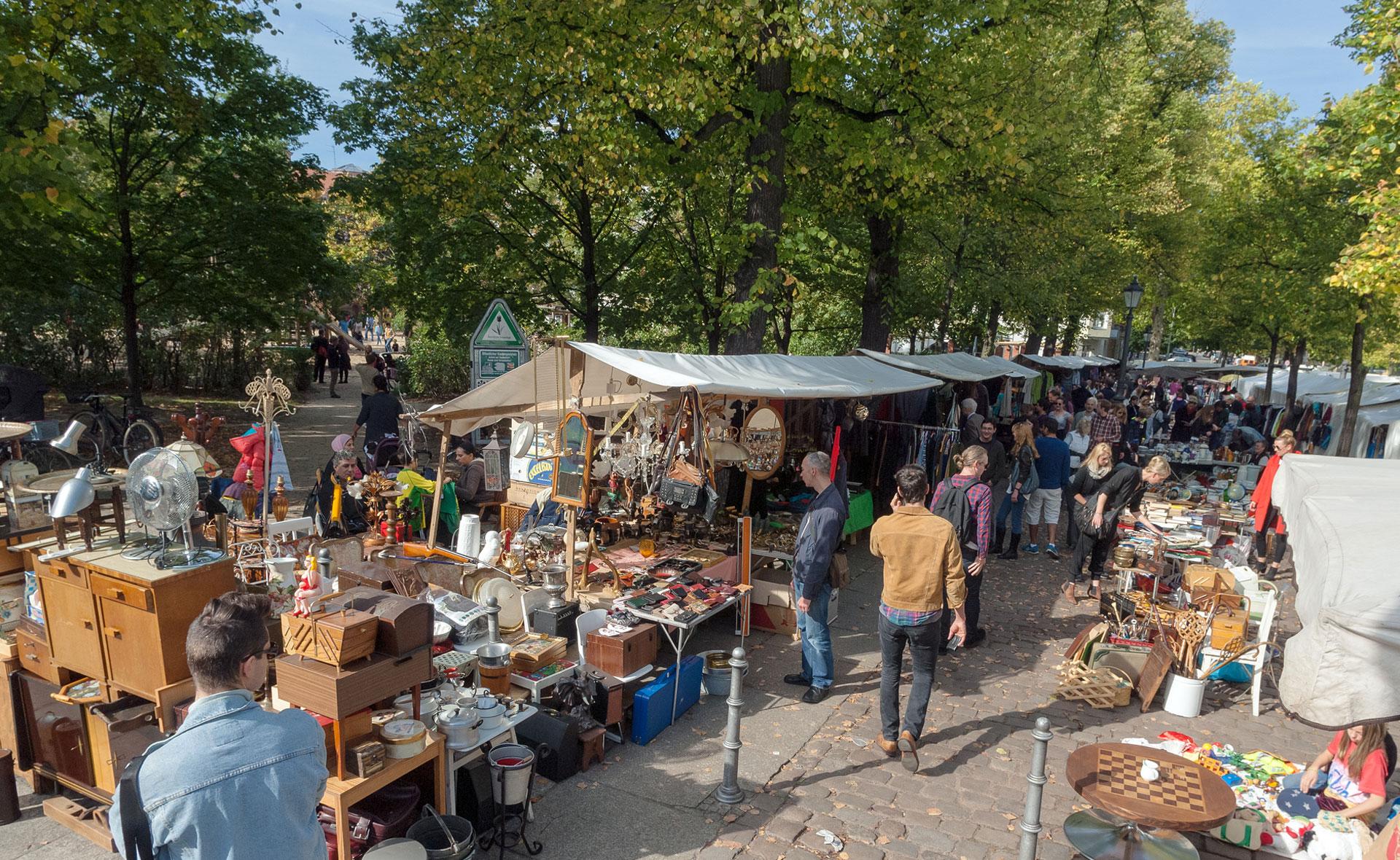 flea market arkonaplatz the vintage map. Black Bedroom Furniture Sets. Home Design Ideas